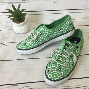 Sperry Top-Sider Printed Sneakers, Size 7